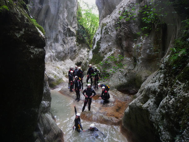 Il Canyoning